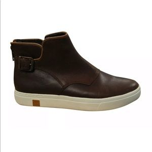 Timberland Womens Amherst Buckle Chelsea Boots 8